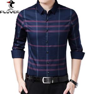 啄木鸟时尚领型型男商务长袖衬衣夏款上衣 香港正牌plover