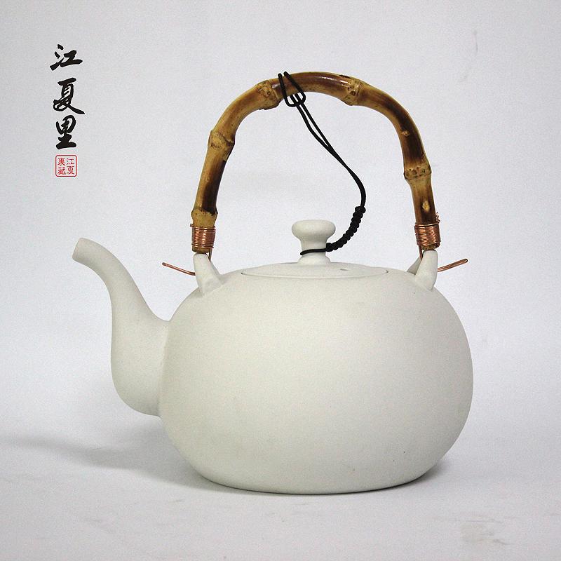 Hervir una tetera de té de jarra de agua hirviendo, hervidor de agua y horno eléctrico de cerámica la cerámica de la salud.