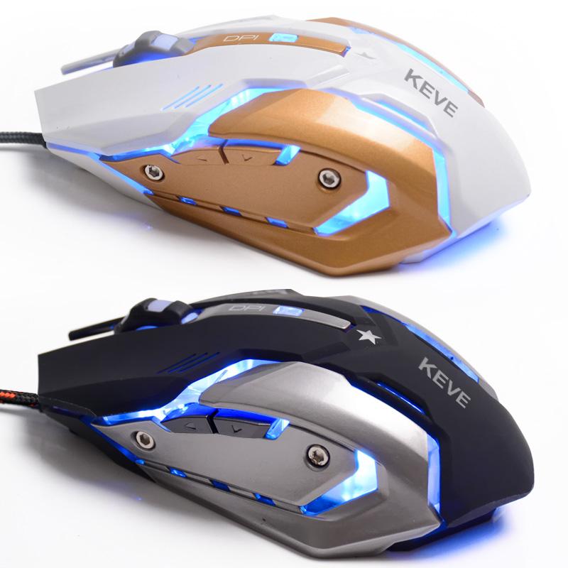 Máquinas de metal USB wired mouse gaming chassis Mais o Jogo lol