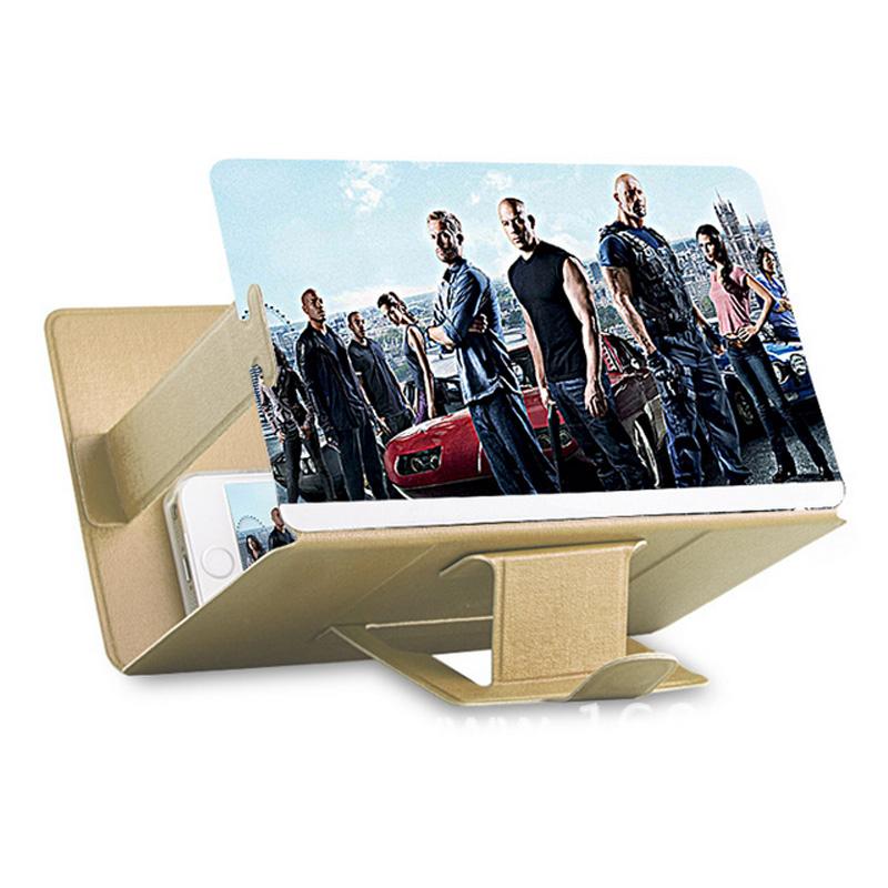 усилитель 3D - экран hd видео смотреть фильмы ленивый поддержки лупа телефон мобильный телефон усилитель лупа