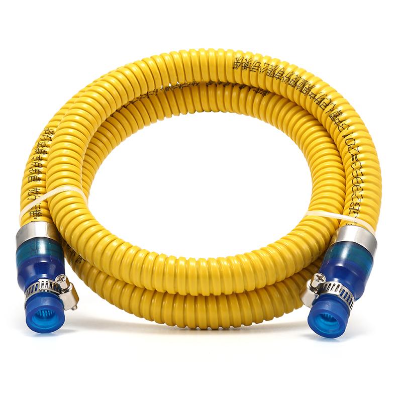 a háztartási pb gáz vízmelegítő fokális gáztűzhely fém összekötő cső a földgáz biztonsági tömlők