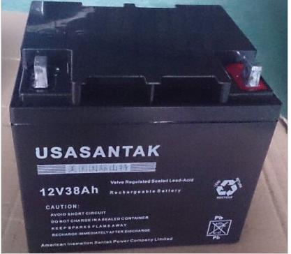 特価アメリカ非常にくUPS電源太陽メンテナンスフリーバッテリ消防ホスト12V38AH蓄電池