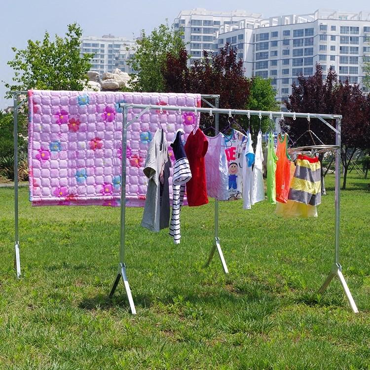 晒架露店を並べる折りたたみクリーニング店に服を表示縦ハンガー家庭用ハンガー着地単軸式