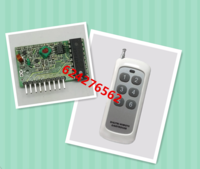 315M wireless remote control with decode wireless receive module PT2272-M6L6 with 1000 meters remote controller