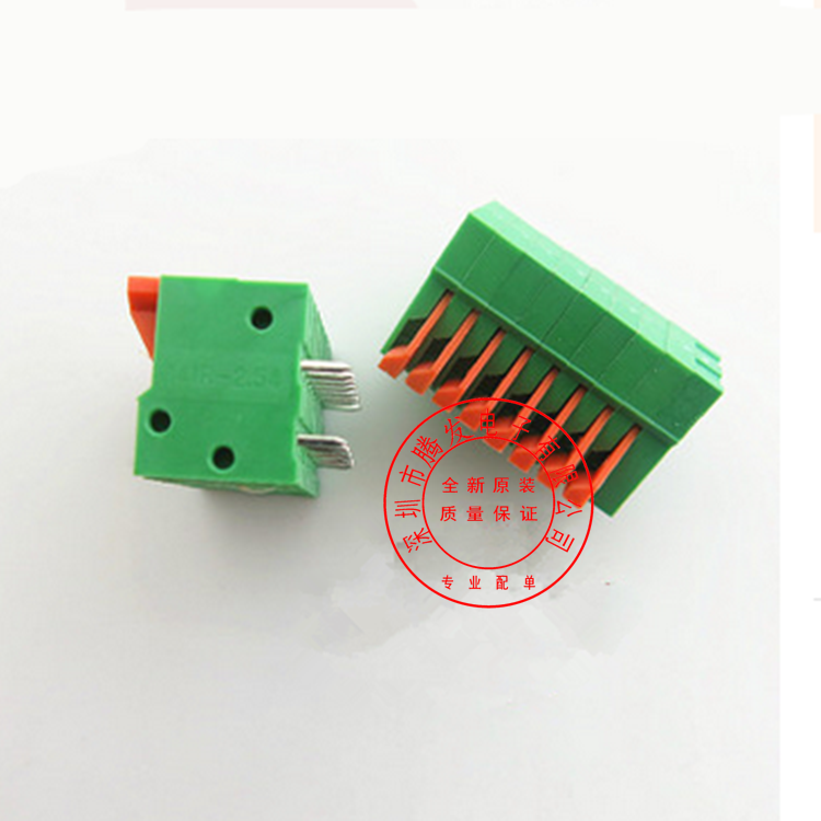 KF141R-8P2.54MM free screw type terminal spring type PCB terminal can be spliced