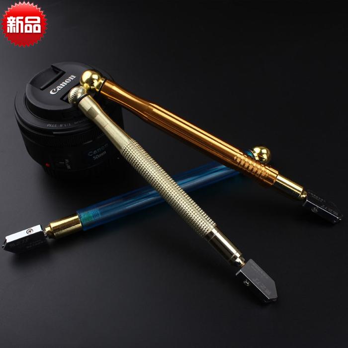 มีดปากกาตัดกระจกกระเบื้องขนาดเล็กแบบใช้มีดตัดแบ่งชิ้นกระจกเครื่องตัดกระจกแบบตัดละเอียดมาก