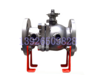 Double jacketed ball valve, split insulation ball valve, BQ41F-16P insulation ball valve, manual heat insulation ball DN20