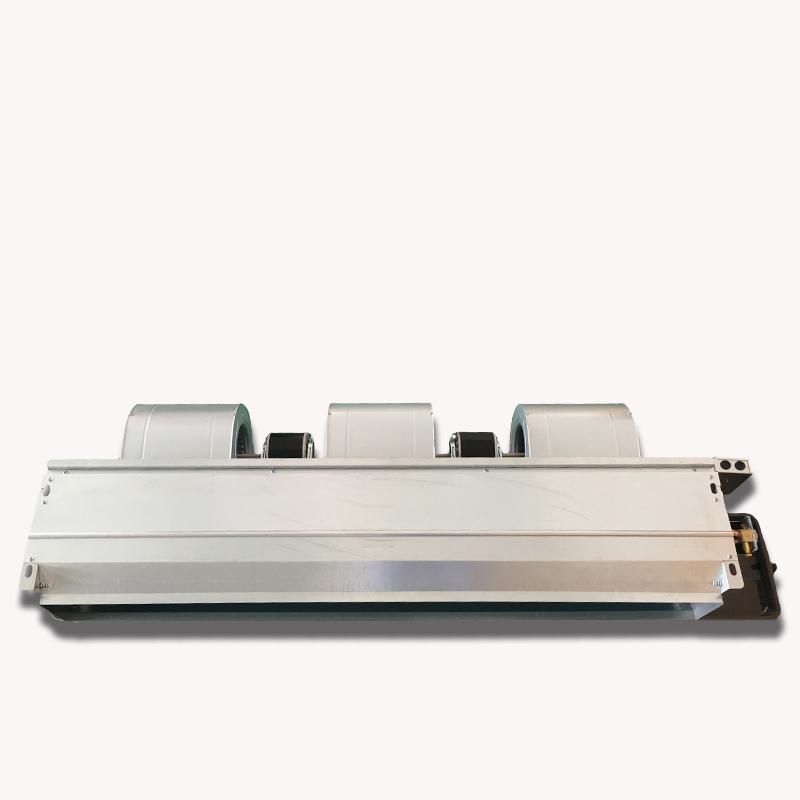 Aire acondicionado central fan de viento horizontal de tubos de 3 caballos de agua de refrigeración de agua de refrigeración de final de final