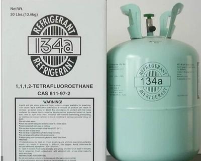 Congelador de la nevera refrigerante R134a refrigerantes de aire acondicionado automotriz 10KG13.6KG nieve tipos de freón