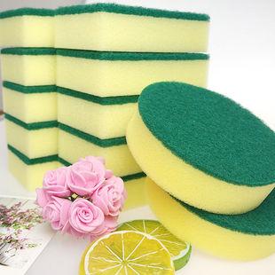 加厚洗碗海绵擦百洁布双面洗碗布吸水不掉毛