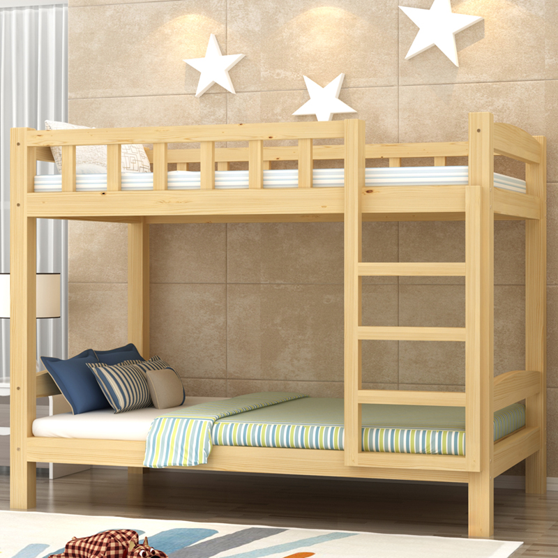 1.8 slide double bunk bed combination bed adult two meters green dormitory bed Princess