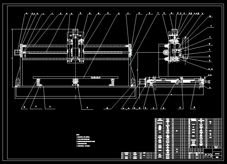 Mechanische graduatie / ontwerp van de Tenoner machine / CNC graveermachine ontwerp / Verticale single-axis houtbewerking router ontwerp