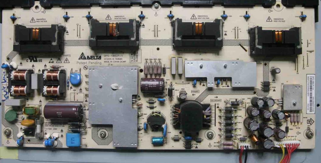 Haier LK32K132 télévision à affichage à cristaux liquides d'une amplification de puissance haute tension régulée de courant constant de rétroéclairage de la carte de circuit imprimé c349