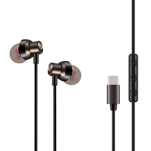 锤子坚果pro耳机原装正品3坚果pro2耳机入耳式手机专用type-c带麦