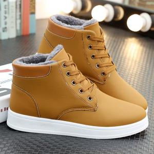 冬季2018新款雪地靴男士休闲马丁靴韩版潮流男靴子民族风男鞋N31