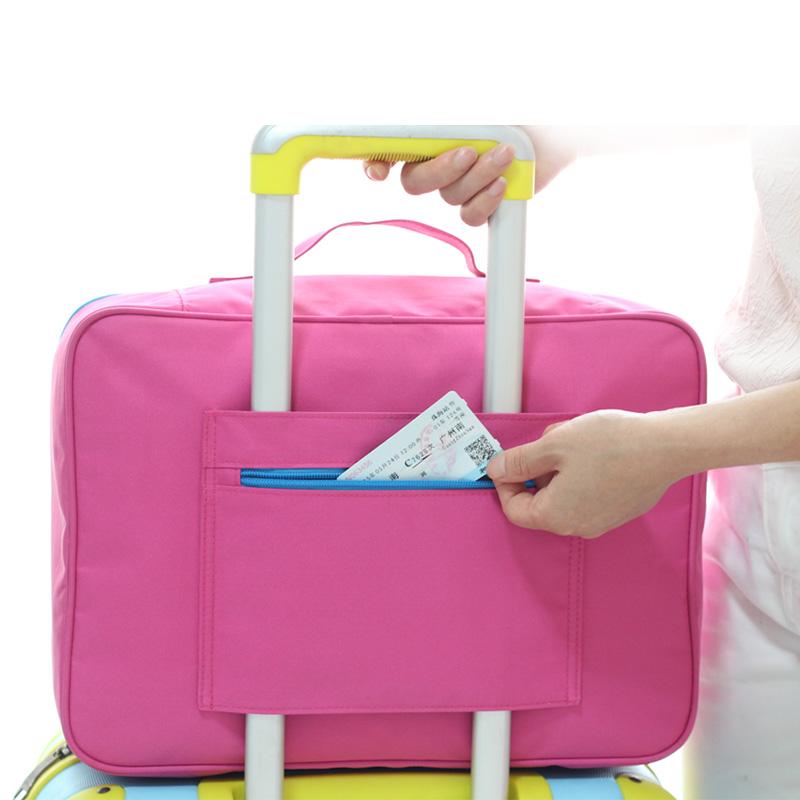 拉杆箱挂包行李旅行袋可折叠套挂提包出差洗漱收纳防水套杆包