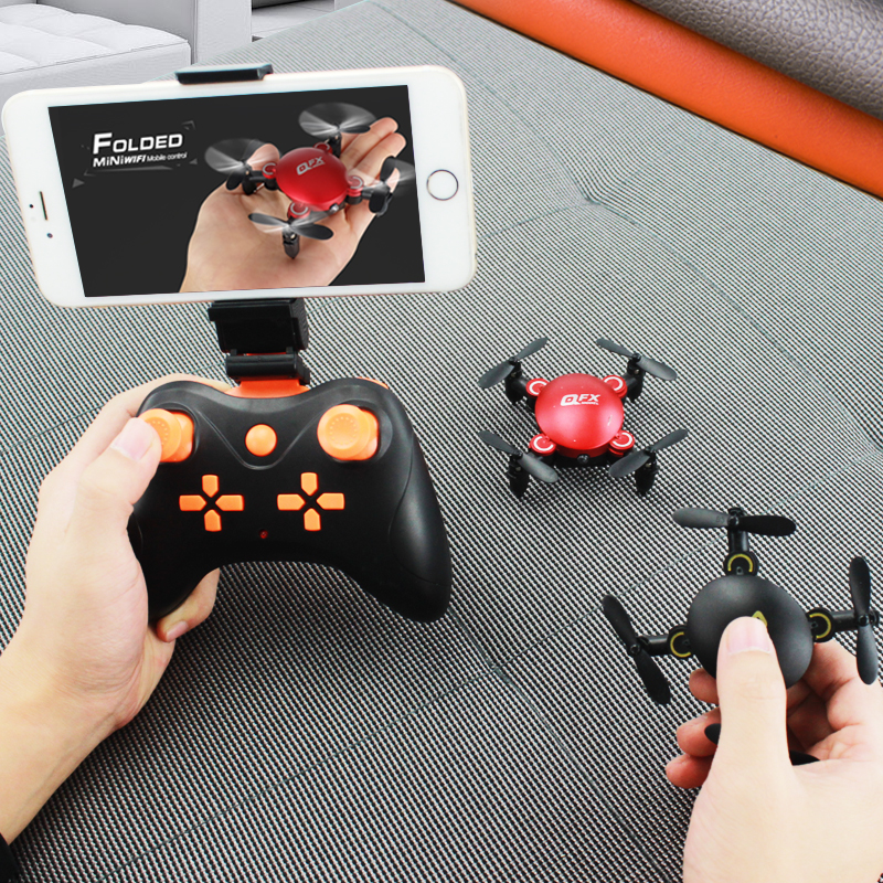 Mini-drop-resistant afstandsbediening vliegtuigen Quadcopter HD Aerial Professional helicopter drone Children's speelgoed model