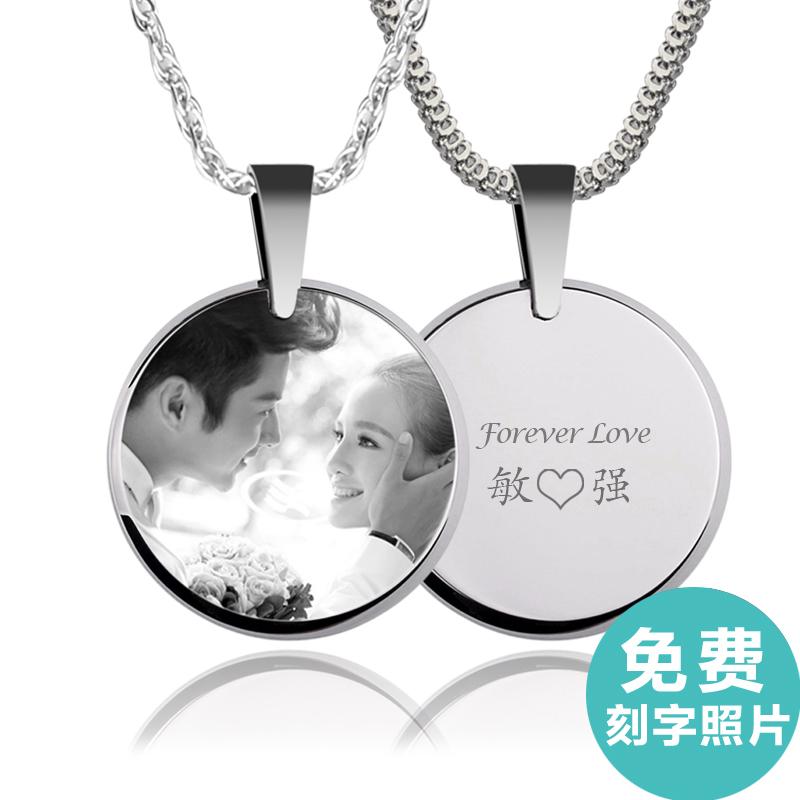 Г - жа мужчин любителей моды ожерелье diy настройки цвета подвесные знак любви личности уникальный подарок украшения прилив