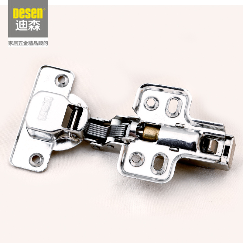 Pak Home Furnishing Addison Sheng Hardware 304 stainless steel pipe hinge hinge hydraulic damping hinge for furniture