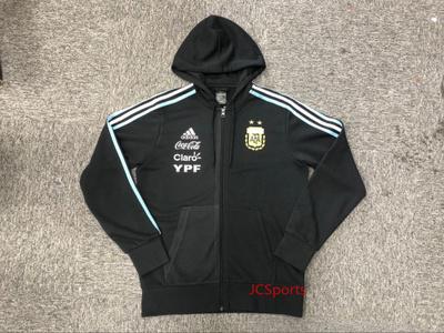 阿根廷 2018世界杯 专柜正品 连帽保暖夹克 带广告标 CE6658
