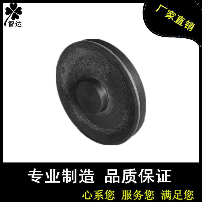 Triangle belt wheel cast iron belt tray A type single groove 1A diameter 80mm empty 80*1A empty factory direct sales