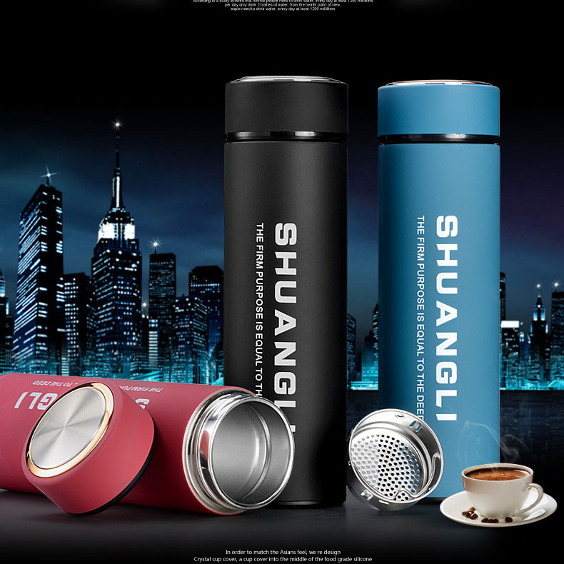 Harbin business cup insulation Cup, stainless steel vacuum large capacity customization, lettering portable car cup, teacup