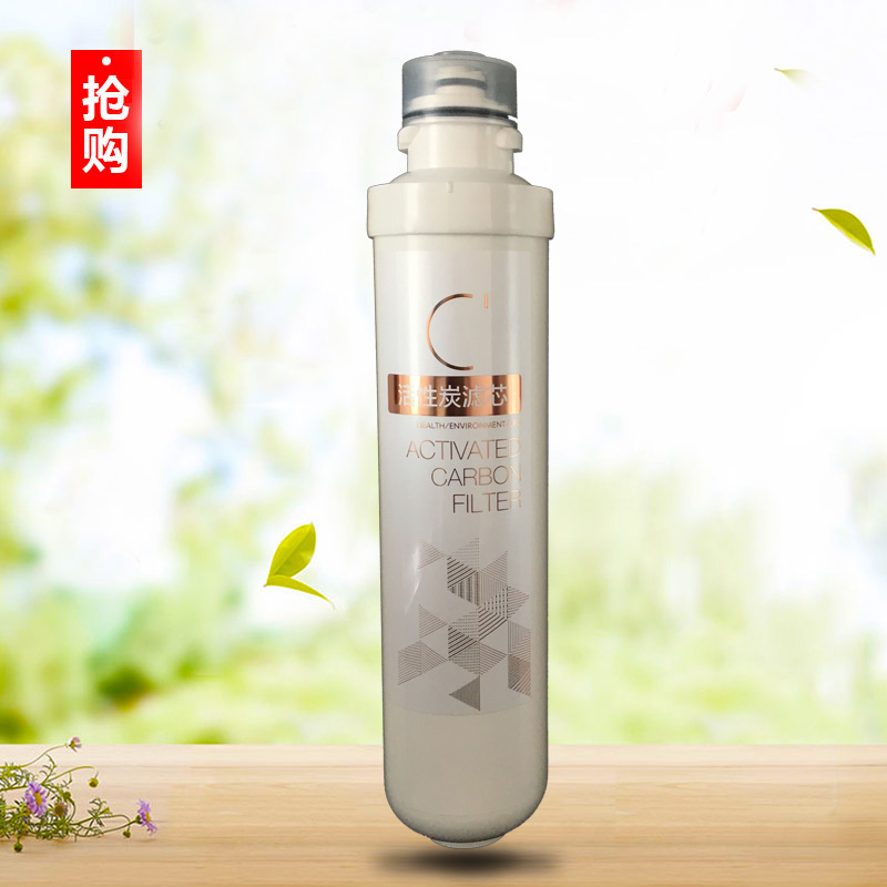 Pack water purifier filter activated carbon filter F1 pre post genuine beauty