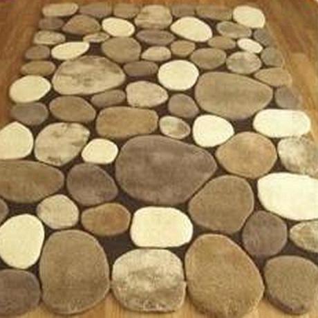 Камень форму простой IKEA гостиной журнальный столик ковров ручной работы акриловый ковер мат мат кровать спальни ковер
