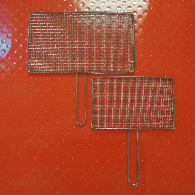 нержавеющая сталь барбекю сетчатого жареный клип клип чисто бытовой барбекю ракетку полужирный жареные овощи на гриле Инструмент шифрования чистый лист