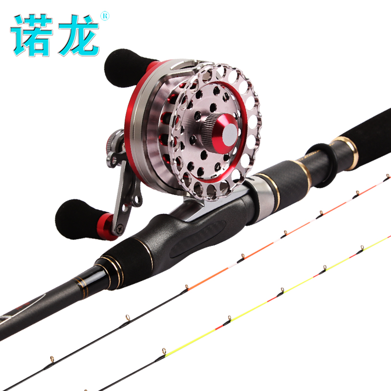 Nandrolone Hallyu micro lead raft fishing rod soft tail 1.35 meters double pole fishing boat raft slightly stem fishing rod set