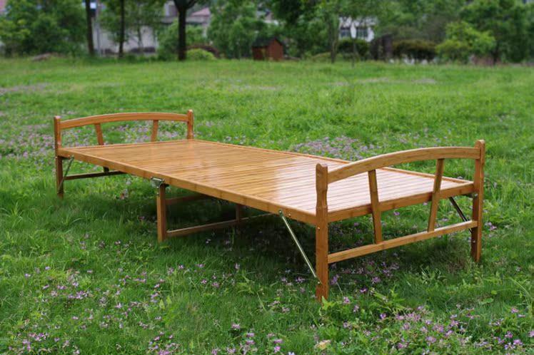 Bambus - Bett ein Bett Bett falten 0.81.01.2 Meter Holz einfach INS Bett und das Baby MIT.