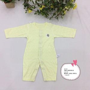 小熊溜溜婴儿连体衣新生儿衣服0-12个月夏季宝宝哈衣纯棉薄款春装