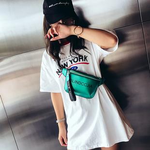 腰包胸包女2018新款潮时尚韩版女生欧美个性爆款时髦嘻哈潮包百搭
