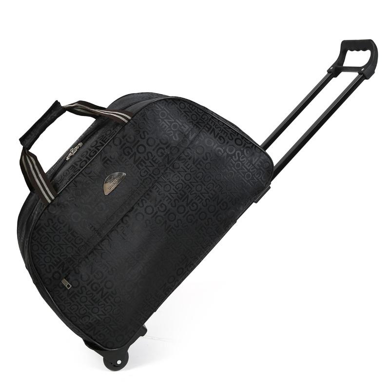 短途旅行包拉杆包手提行李箱包男女旅游旅行袋登机箱包手拖