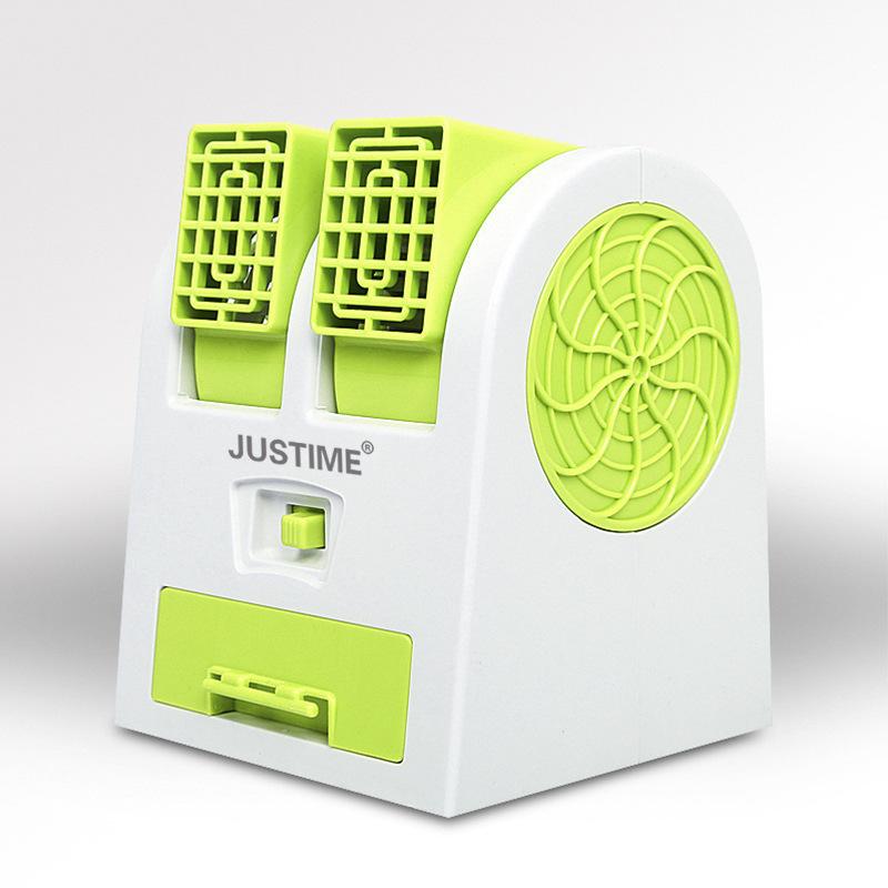 Un pequeño ventilador ventilador de refrigeración refrigeración portátil pequeño vehículo eléctrico de la residencia creativa de mini - el agua y el aire acondicionado