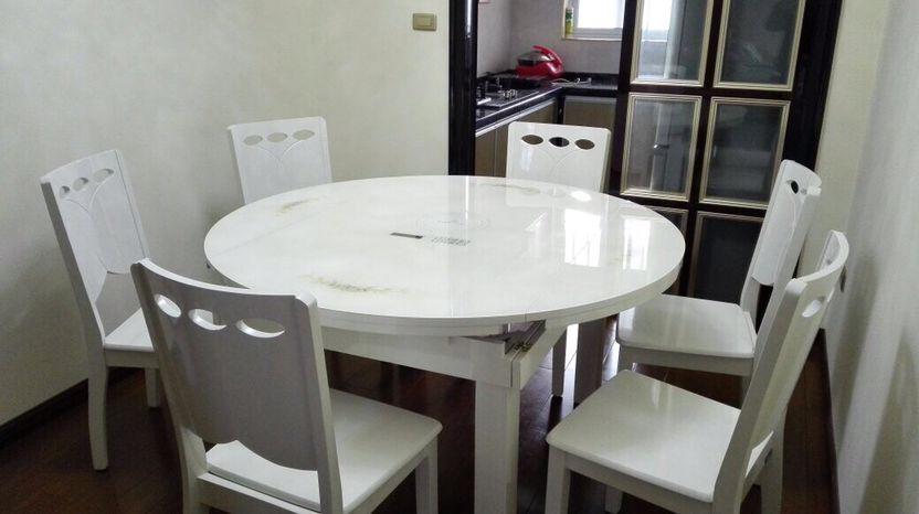 закаленное стекло обеденный стол деревянные многофункциональный телескопической складные циркуляр с электромагнитная печь обеденный стол и стул сочетание хого стол