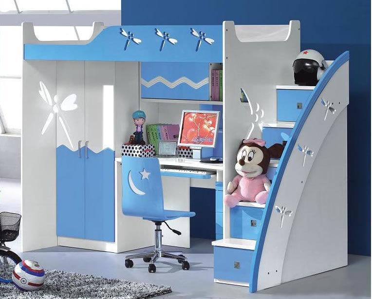 Brand furniture suite, combination bed, children bed, desk, wardrobe, bed ladder cabinet, multi-function bed and bed, boys and girls