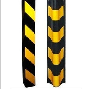 Rubber strip, rubber corner corner protector round corner, high quality traffic facilities and products