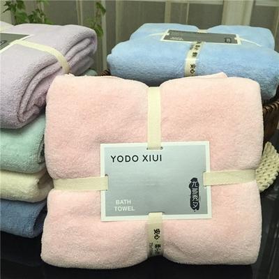 yodo xiui日本大浴巾成人男女裹胸超强吸水柔软新生婴儿宝宝儿童