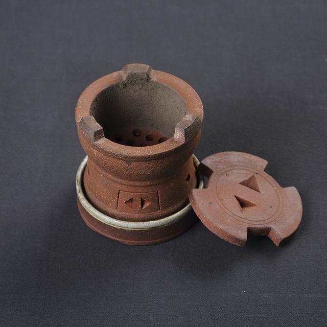 ветер печь печь котел уголь Древесный уголь терракота чайник ручной уголь печь алкоголь кунг - фу Садо готовить чай