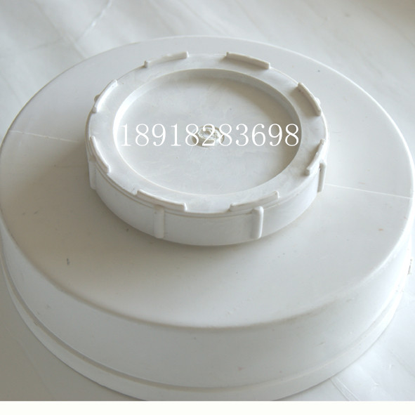 PVC water drainage pipe plug pipe adhesive piece water blocking cap tube cover cleaning port 160200