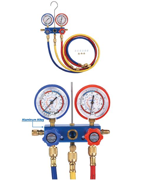 Η μέι CM-236-G-R12/R22/R134A/R410a ψυγείο χιόνι για διπλή Πίνακας ψυκτικό μετρητή πλήρωσης