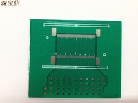 Bidirectional pin spacing 60pin0.5mm universal board PCB test board FPC connector adapter plate