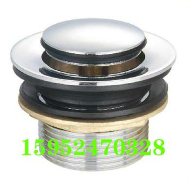El barril de baño de Tina toda la válvula principal de cobre de accesorios de baño de agua válvula de válvula de drenaje en el correo