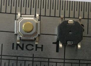 4*4*1.5/1.7/2.0/2.5/3.0mm met vloeibare kristallen met knopen aan zet een koperen kop