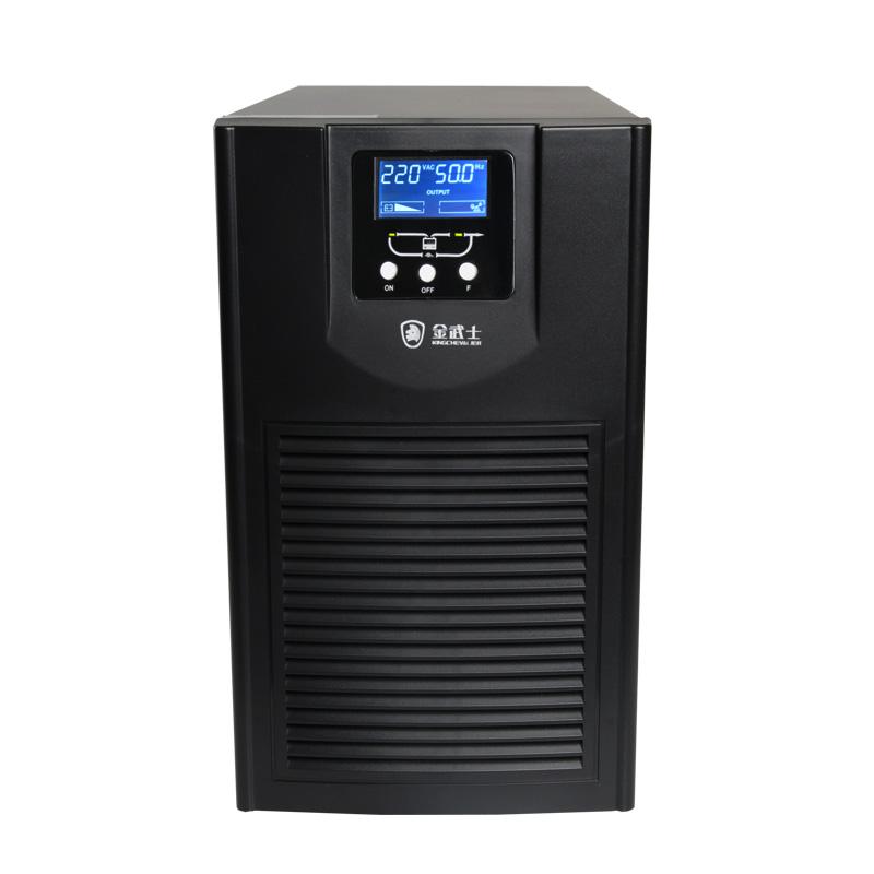 อัศวินสีทอง GT2KVA / 16 ความถี่สูงออนไลน์ UPS Uninterruptible Power Supply แรงดันไฟฟ้าสลับเวลาปรับให้กด 0