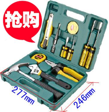 La Nuova serie di 12 Pezzi Hardware Kit domestico della Famiglia DY0601 Toolkit combinazione di xiushui elettricista.