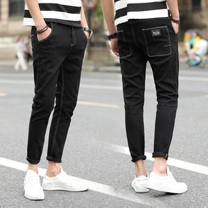 615自家图#不褪色 下半年新款黑色牛仔裤