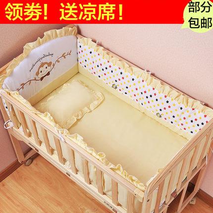 携帯型折りたたみベッドベビーベッドベッド中床新生児防圧の旅行の0 - 6ヶ月の赤ちゃんのバイオニクスベッド