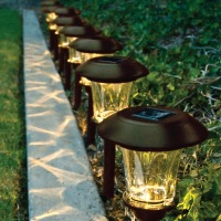 Solar energy lamp outdoor household indoor ceiling lamps lights lit with electric remote control corridor courtyard lamp
